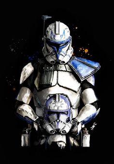Star Wars Fan Art, Star Wars Cute, Star Wars Concept Art, Star Wars Clones, Star Wars Clone Wars, Star Trek, Images Star Wars, Star Wars Characters Pictures, Amour Star Wars