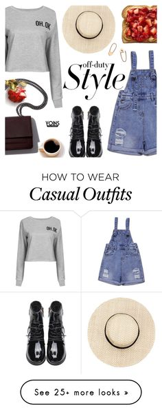 """Off Duty ~ Yoins #17"" by alexandrazeres on Polyvore featuring Loren Stewart, casual, offduty, yoins, yoinscollection and loveyoins"