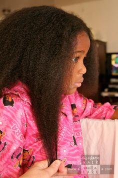 Chocolate Hair / Vanilla Care: Basic Healthy Hair Steps for Beginners