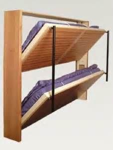 Decorate your room in a new style with murphy bed plans Murphy Bunk Beds, Bunk Bed Plans, Murphy Bed Plans, Space Saving Beds, Space Saving Furniture, Custom Bunk Beds, Yurt Living, Tiny House Furniture, Bunk Bed Designs