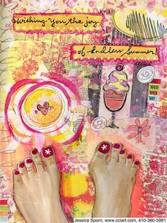 artjournaling:    Endless Summer LR (by jessica.sporn)