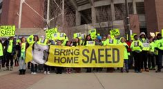 PASTOR ABEDINI'S WIFE PENS OPEN LETTER TO OBAMA - Protests asking President Obama to save pastor Saeed Abedini