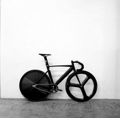 Full black fixe gear