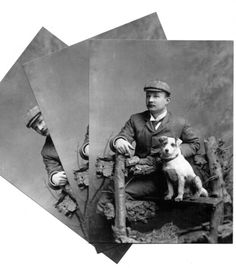Sherlock Holmes with his best friend - a dog!
