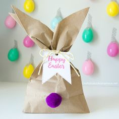 Diy easter bunny treat bags tutorial easy to make craft me of celebrate easter with a flare make your tables kid friendly serve easy snacks and play fun bunny games use these party animal ideas to keep everyone negle Gallery