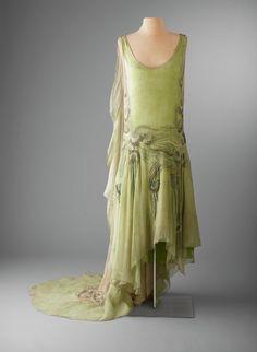 Callot Soeurs evening dress, 1929 From the Hillwood Museum