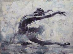 Ballet Dancer by Renata Brzozowska. Oil on Canvas. 2008. http://www.brzozowska-art.pl/en/hats.php