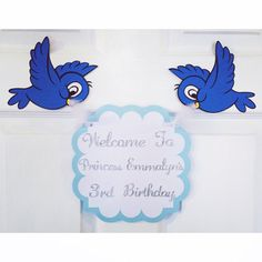 Cinderella welcome sign Cinderella birthday by FalcoClan on Etsy