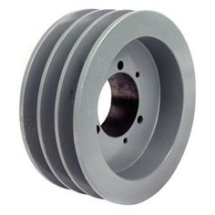 Sheave, QD, Bushed, SD, O D 7.15 In, 3 Groove by Tb Wood'S. $118.65. Quick Detachable Classical Cast Iron SheavesFor use with single or banded v-belts with either wrapped or cogged construction.Fine grain, high tensile cast ironSheave, Quick Detachable, Bushed Bore, Bushing Required SD, Outside Dia. 7.15 In., 3 Groove, Web Construction, 4L or A Belt Pitch Dia. 6.4 In., 5L or B Belt Pitch Dia. 6.8 In., Gray Color, Iron Material, For Use With A, AX, B Or BX Type V-belts
