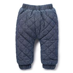 Shop now: Quilted Chambray. #seedheritage #seedbaby