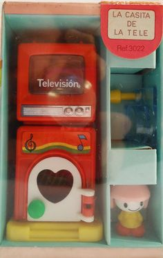 TV Room. Tomy 80s Toy by SweetVintageGoods on Etsy, $46.00
