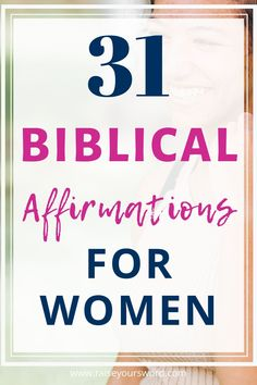31 Biblical Affirmations for women. Daily biblical affirmations will change your life and grow your faith through scripture. Start declaring these 31 biblical affirmations for women over your life today. #biblicalaffirmations #declaringbiblicalaffirmations #biblicalaffirmationsforwomen #biblicalaffirmationstruth #freeprintable Christian Women Quotes, Christian Friends, Christian Families, Christian Affirmations, Affirmations For Women, Daily Affirmations, Sign Quotes, Sign Sayings, Prayer Quotes