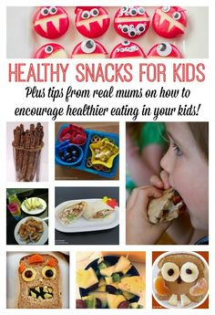 Healthy snacks for kids:  perfect for after school snacks