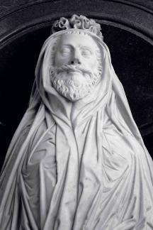 Funeral effigy of John Donne
