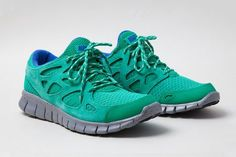Nike Free Run+ 2 Suede Stadium Green