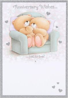 Hallmark Forever Friends Anniversary Card 'Todays Your Day' - Medium Happy Aniversary, Happy Anniversary Wishes, Anniversary Cards, Birthday Wishes, Happy Birthday, Celebration Love, Teddy Bear Pictures, Blue Nose Friends, Love Bear