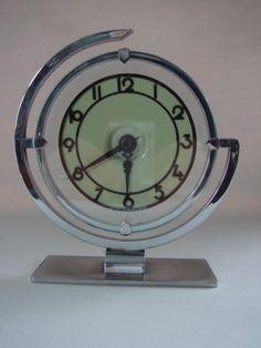 Art Deco Table Clock | Raddest Men's Fashion Looks On The Internet: http://www.raddestlooks.org
