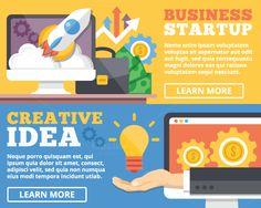 Business Startup & Creative Idea by Magurok on Creative Market