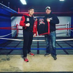 Marine vet came to visit #box #boxingfamily #boxing #runningman #life #boxingtraining #workout #sport #fight #gym #champion #junior #consistency #run #chicago #olympics #live #fit #motivation #training #mode #girl #game #fun #runner #latina #running #marines