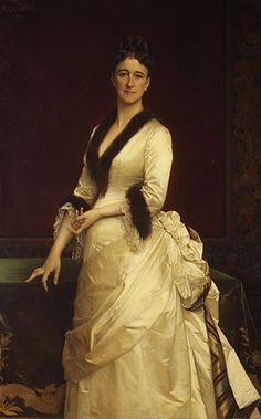 Catharine Lorillard Wolfe, 1876  Alexandre Cabanel