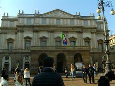 Het theater van Milaan, als ik het goed heb.