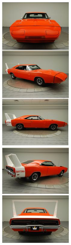 1969 Dodge Daytona Hemi...Brought to you by House of #Insurance in #Eugene #Oregon   I love this car in orange!