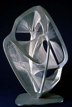 Hard Wired: Artist 14: Naum Gabo When WWI broke out he moved to Copehangen, then Oslo, Finland with his brother, Alexei. Back to Russia in 1917