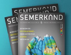 SEMERKAND DERGİSİ | Sayfa Tasarımları