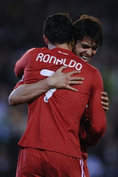 Ronaldo and Kaka