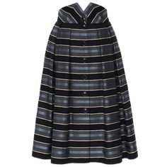 Full skirt with wide, highcut waistband. Made from a striking striped fabric with wide box pleats and a Button-through front. Fully lined. Ribbon Skirts, Working Man, Box Pleats, Striped Fabrics, Piece Of Clothing, Blue Stripes, Men, Pockets, Clothes