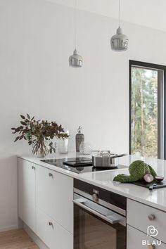 Breakfast bar island ikea kitchen 42 ideas for 2019 Grey Kitchen Floor, Grey Kitchen Cabinets, Kitchen Cabinet Colors, Kitchen Flooring, Kitchen Dining, Kitchen Decor, Kitchen Colors, Grey Kitchens, Cool Kitchens