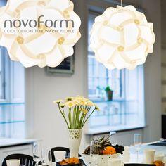 Bright light in modern form...