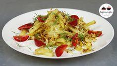 Жареный картофель  с капустой и луком Картофель — 4 шт Капуста белокочанная — 200 г Лук репчатый — 1 шт Масло подсолнечное — 5 ст. л. Соль
