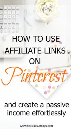 Looking for a guide to show you how to use affiliate links directly on Pinterest? This tutorial will show you how to make money with affiliate marketing. Bloggers and WAHMs can make extra money using their pins. You can get paid just for going on Pinterest. Learn the best ways to use affiliate links on your pins to increase your income. Learn which are the best affiliate programs to join and which products sell well for affiliate marketers on Pinterest. All the secrets to promoting your pin.