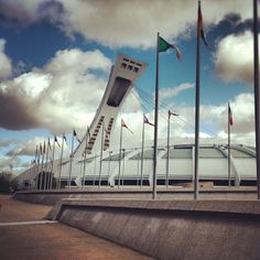 """See 1221 photos and 44 tips from 7123 visitors to Stade Olympique. """"Go up the tower, but only if the weather is decent otherwise you won't see much. Montreal Quebec, Wonderful Places, Four Square, Scenery, Fair Grounds, Around The Worlds, Tower, Architecture, City"""