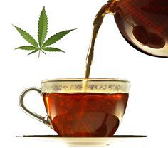 How To Make Marijuana Tea   http://marijuanaworldnews.com/how-to-make-marijuana-tea/  Update: Tried this. Maybe it's me but didn't work at all.