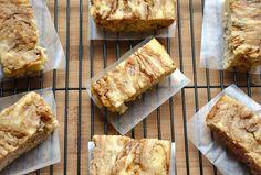 Baked Apple Streusel Pancake Bars - Vegan