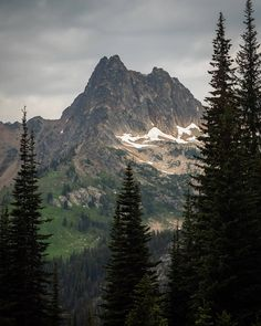 """Adam Gillespie on Instagram: """"It's just me and that mountain. Looking into one another's souls"""" Cascade National Park, North Cascades National Park, National Parks, Just Me, Mount Rainier, Mountains, Nature, Travel, Instagram"""