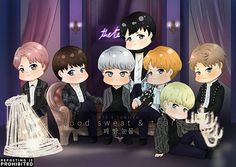 [FA-#yuniizu   DONT repost   #WINGS ]  blood sweat & tears  #방탄소년단 #BTS #rapmon #jin #suga #jhope #jimin #taehyung #jungkook #ot7 #chibi #fa #fanart