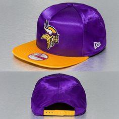 New Era Snapback Cap violet