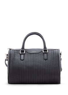 MANGO - Quilted bowling bag