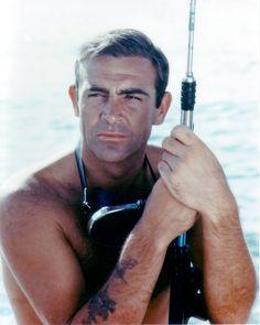 Sean Connery as 'James Bond' in Thunderball (1965)