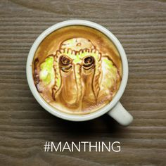 """Man-Thing returns! Pick up """"Man-Thing"""" #1 at your local comic shop TODAY. #ComicsNCoffee (☕️: Baristart - Michael Breach)"""
