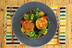 Cinco Quartos de Laranja: Bolinhos de batata e salmão