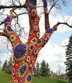 helpful info - yarn bombing