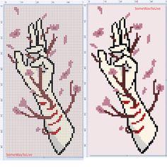 Cross Stitch Beginner, Cross Stitch Art, Cross Stitch Designs, Cross Stitching, Cross Stitch Embroidery, Embroidery Patterns, Cross Stitch Patterns, Graph Paper Drawings, Modele Pixel Art
