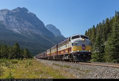 RailPictures.Net Photo: CP 4107 Canadian Pacific Railway EMD FP9 at Field, British Columbia, Canada by Matthew Robson (www.elevation-media.com)