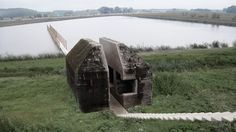 Movie shows concrete bunker cut in half by RAAAF and Atelier de Lyon. See more movies at www.dezeen.com/movies.  This movie shows how a redu...