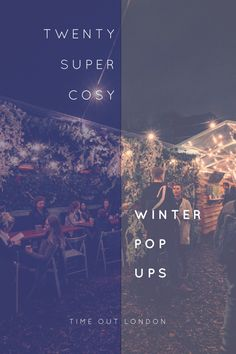Visit cool bars and restaurants temporarily appearing in London this Christmas: http://www.timeout.com/london/things-to-do/20-wonderfully-cosy-winter-pop-ups