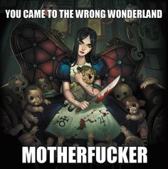 """Buy Print Anime Poster """"Alice Madness Returns, American McGee 's Alice, Alice in Wonderland """" Art Decor in. at Cute - Beauty Shopping Alice Liddell, Alice Madness Returns, Lewis Carroll, Geeks, Chesire Cat, Estilo Rock, Pandora Hearts, Dibujos Cute, Were All Mad Here"""